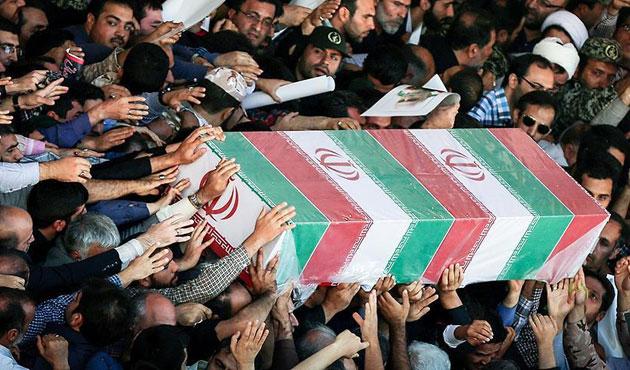 İran medyası Suriye'deki kayıpları için 'facia' dedi