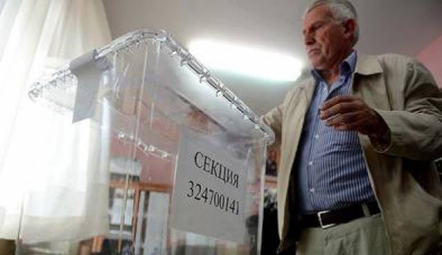 Bulgaristan vatandaşları sandık başında