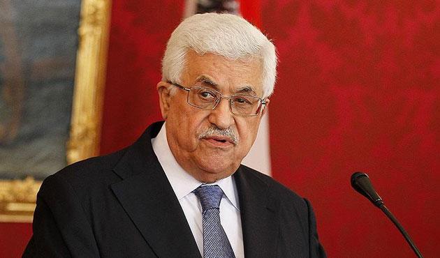 Abbas: Uluslararası hukuk israil'e uygulanmıyor