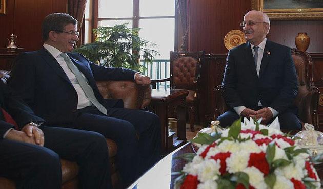 Davutoğlu'nun veda ziyaretleri sürüyor