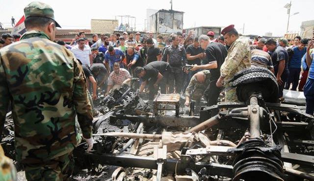 Bağdat'ta dört patlama: 69 ölü