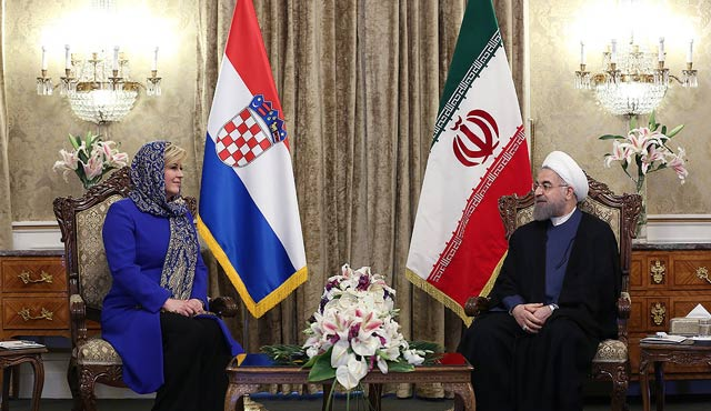 Hırvatistan Cumhurbaşkanı, İran'da