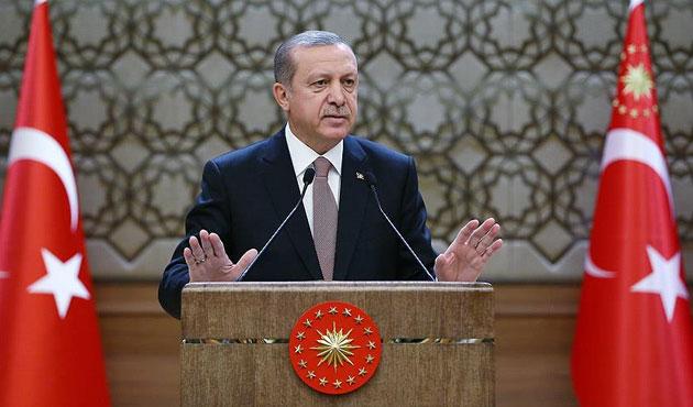 Erdoğan: Suriye'nin kuzeyinde ciddi bir proje uygulanmaktadır
