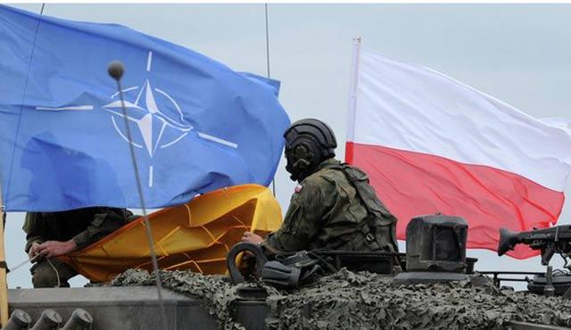 NATO askerleri Polonya'ya gelmeye başladı