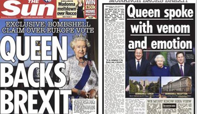 Brexit'e İngiliz sarayından yalanlama