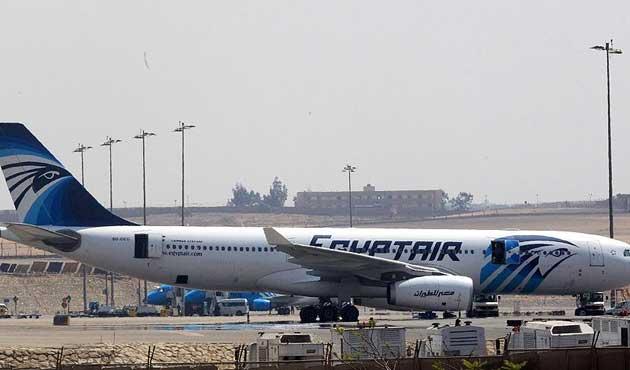 Mısır uçağı Yunanistan'da düşmüş
