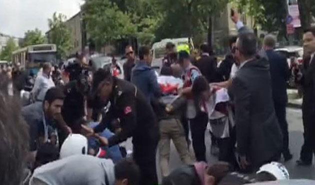 Zirve protestocuları gözaltına alındı