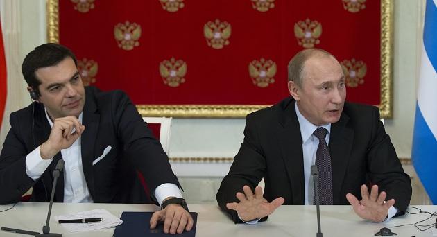 Putin enerji gündemiyle Atina'da