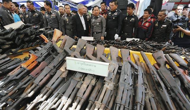 Tayland'ın silahları Rusya ve Çin'den