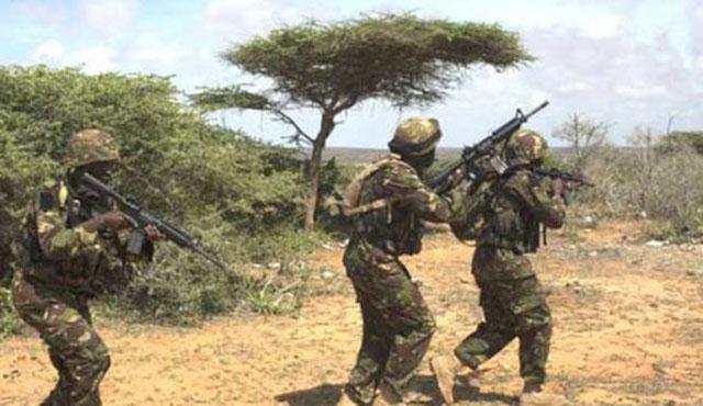 Kenya askeri Somali'de 21 Eş-Şebab üyesini öldürdü