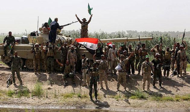 Enbar'da stratejik Garma bölgesi IŞİD'den alındı
