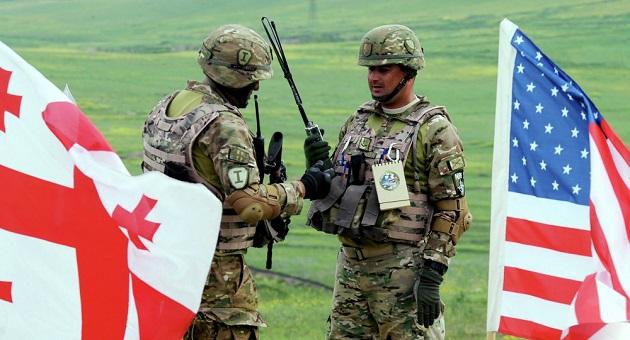 ABD ve Gürcistan ortak tatbikatına suçiçeği engeli