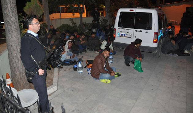 Muğla'da 48 göçmen yakalandı