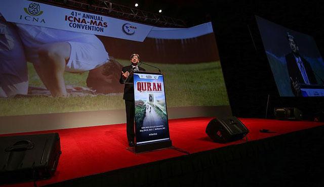 ABD'de yaşayan binlerce Müslüman bir araya geldi