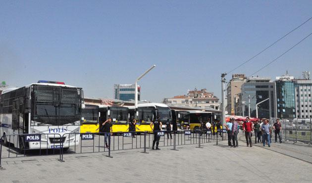 Gezi Parkı'na girişlere izin verilmiyor