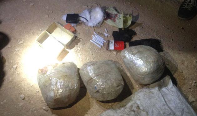 Süleyman Şah Türbesi sınırında 20 kiloluk bomba