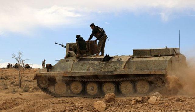 Suriye'de Koalisyon güçleri Münbiç'e saldırdı