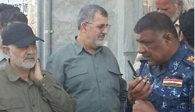 İranlı Kara Kuvvetleri Komutanı Felluce operasyonunda