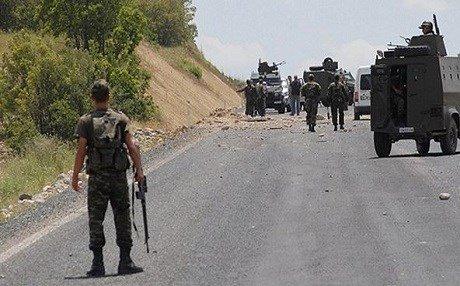 Gümüşhane'de askeri araca saldırı