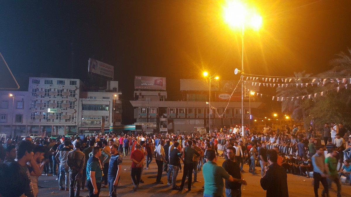 Sadr'ın çağrısı cevap buldu: Bağdat yine ayakta