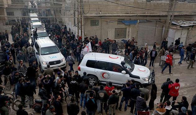 Suriye'de Deraya'ya yardım için kısmi izin