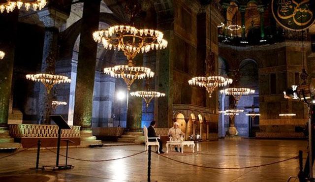 'Ayasofya'nın kullanımı Türkiye'nin meselesi'