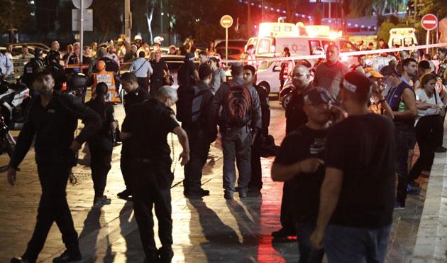 Tel Aviv'de çifte saldırı