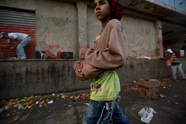 Venezuela'da gıda krizi derinleşiyor