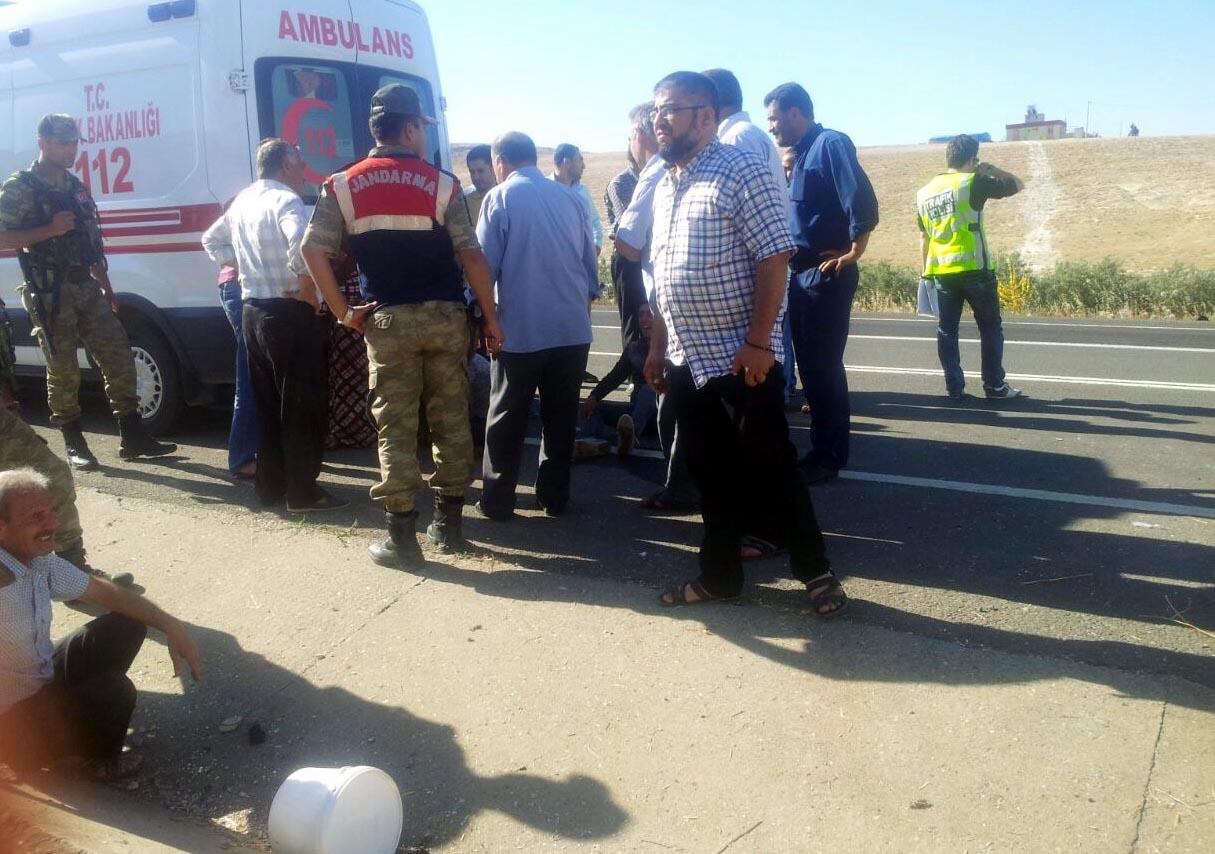 Suriyeli işçiler kaza yaptı: 2 ölü