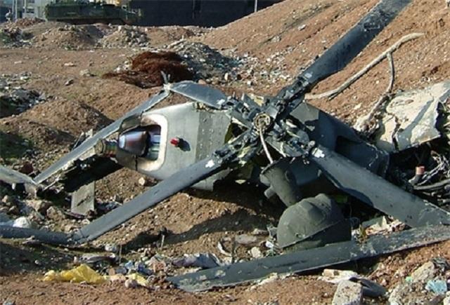 BAE'de askeri helikopter düştü: 2 ölü