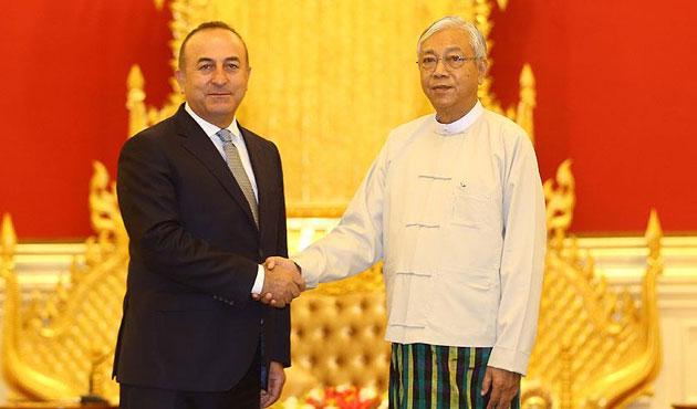 Çavuşoğlu'ndan Myanmar'a destek açıklaması