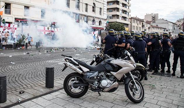 EURO 2016'da şiddet had safhada