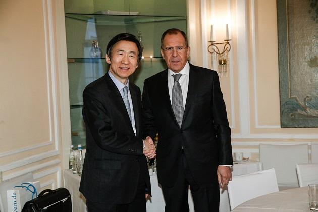 Güney Kore Dışişleri Bakanı Yun, Moskova'da