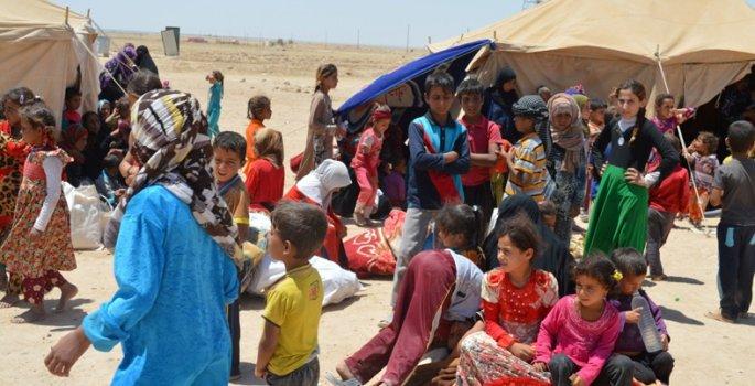 Felluce'den kaçan sivillere IŞİD'li muamelesi