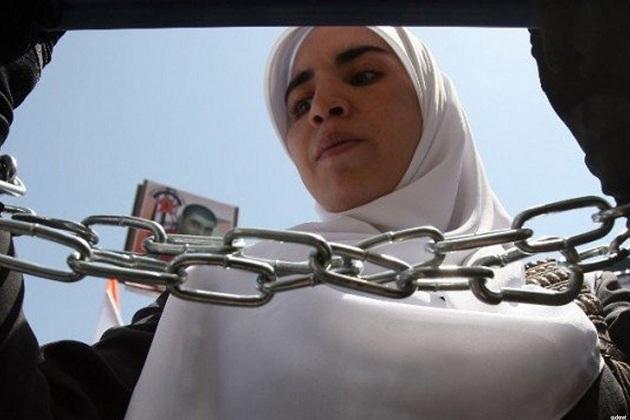 İsrail'den sekiz ayda 215 Filistinli kadına gözaltı