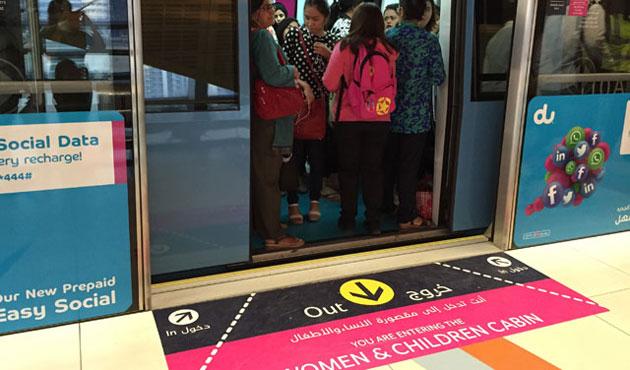 Gökçek'in kadınlara özel vagon anketinden 'evet' çıktı