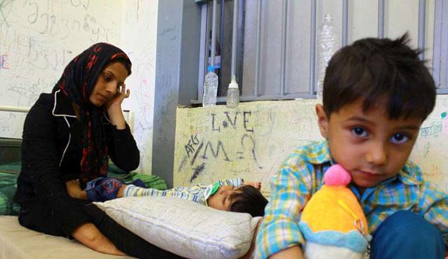 Her 10 çocuk sığınmacıdan 9'u refakatsiz