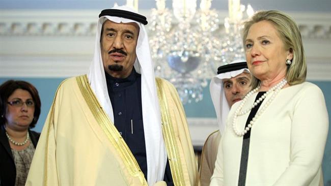 Suudiler'den Clinton'a finansal destek