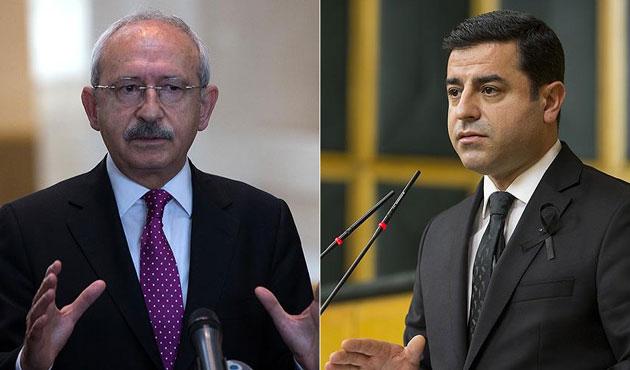 Demirtaş ve Kılıçdaroğlu'nun fezlekeleri Başsavcılıkta