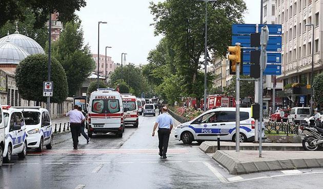 Vezneciler saldırısına ilişkin iki gözaltı
