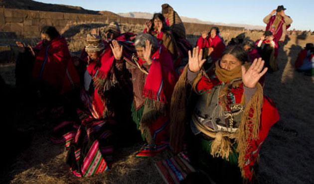 Bolivya Miladi takvimden vazgeçmeyi tartışıyor