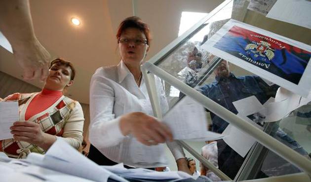 Ukrayna'dan seçimlerin güvensizliğine işaret