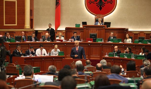 Karadağ Meclis Başkanı Pajovic Arnavutluk'ta