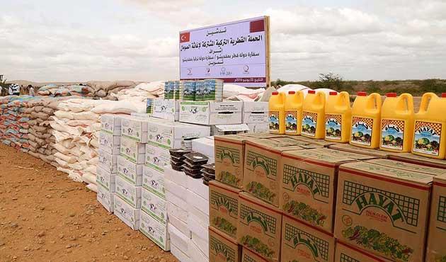 Türkiye ve Katar'dan Somali için yardım kampanyası