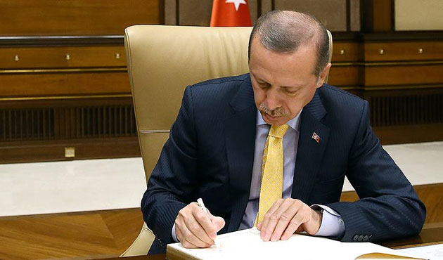 Erdoğan'dan TSK Kanunu'na onay