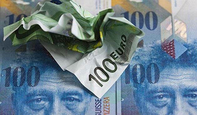 İsviçre Merkez Bankasından franka müdahale
