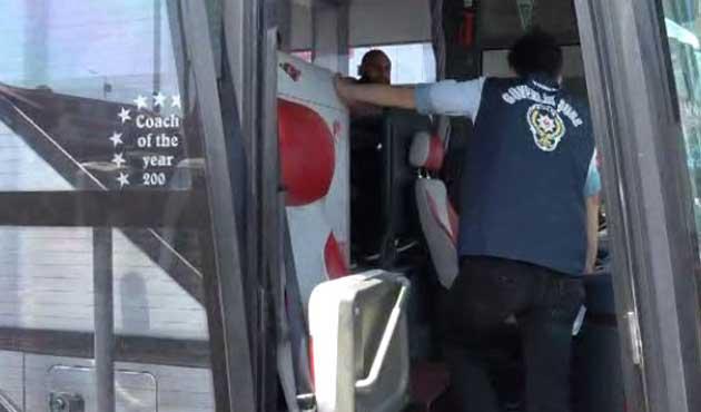 Bağcılar'da şüpheli otobüs alarmı