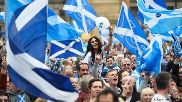 İskoçlar bağımsızlık referandumuna mesafeli