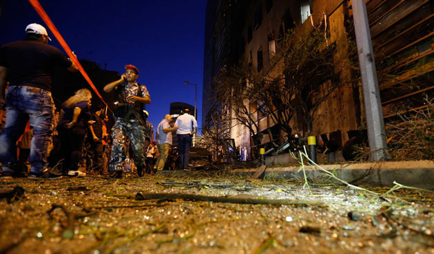 Lübnan'da canlı bomba saldırısı