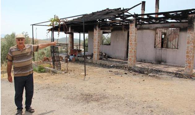 5 Litre zeytinyağı için evi yakıldı